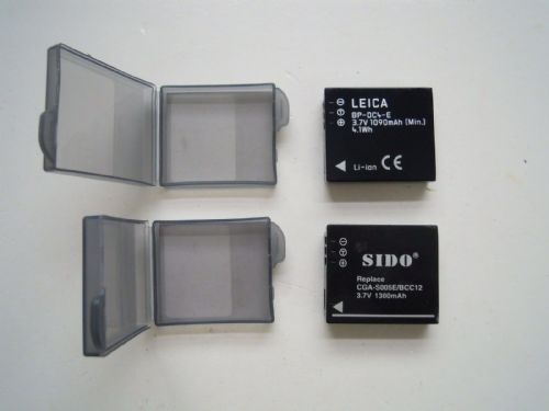 LEICA AND SIDO BATTERIES